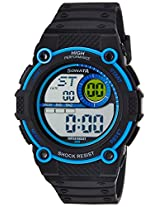 Sonata Digital Black Dial Men's Watch - 77004PP03J