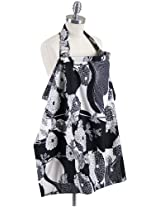 Bebe Au Lait Yoko Bebe Nursing Cover, Black and White (Discontinued by Manufacturer)