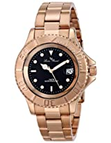 Lucien Piccard Men's LP-12668-RG-11 Walen Analog Display Swiss Quartz Rose Gold Watch
