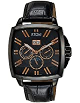 Titan Automatic Analog Black Dial Men's Watch -90004NL01J