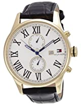 Tommy Hilfiger Analog White Dial Men's Watch - NTH1710291/D