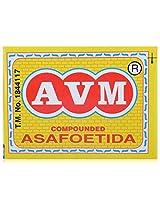 AVM Compounded Asafoetida Cake, 25 grams (Pack of 100)