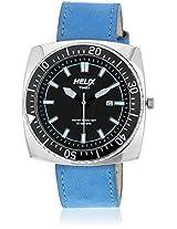 09Hg03 Blue/Black Analog Watch