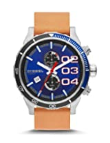 Diesel  Chronograph Blue Dial Men's Watch - DZ4322I