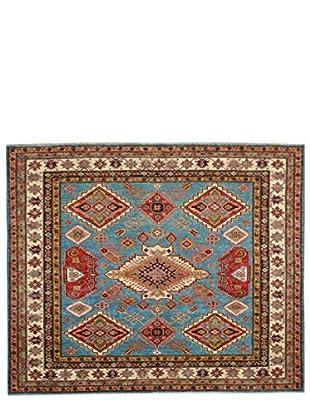 Kalaty One-of-a-Kind Kazak Rug, Blue, 6' 1