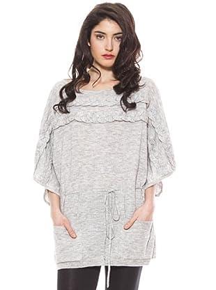 La Casita de Wendy Vestido Lana (gris claro)