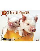 12 Little Piggies 2014 Calendar