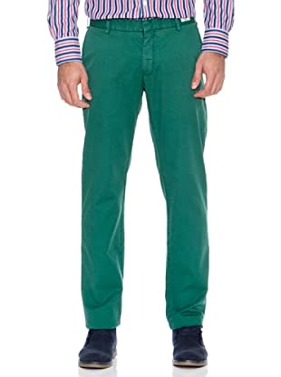 Tommy Hilfiger Pantalón Bleecker Chino It Str Brk Twill Gmd (Verde)