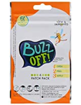 Buzz Off Mosquito Repellent Patch (Pack of 6 Patches)