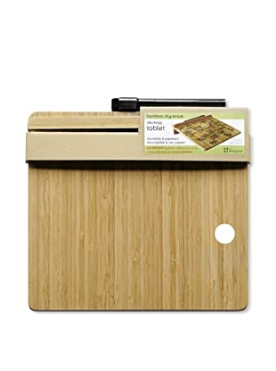 Three by Three Set of 2 Desktop Tablet Dry Erase (Bamboo)