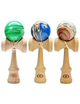 Yomega's Coyote Kendama - crafted from Beechwood, these unique water dip designs are inspired by the distinct beauty of the Southwest.