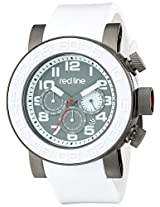 red line Men's RL-50052-GM-014-WAS Xlerator Analog Display Japanese Quartz White Watch