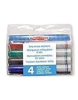 Melissa & Doug Dry-Erase Marker Set (4 Piece)