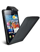 Amzer AMZ92916 Flip Case for Samsung Galaxy S II GT-I9100 (Black)