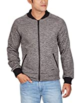 United Colors of Benetton Men's Cotton Jacket (8903975038745_15A2FS1C7039I01V52_x-large_Steel Grey)