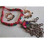 Thread necklace