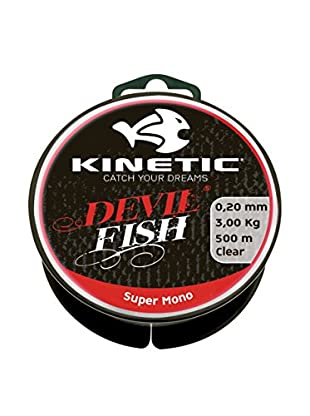 Kinetic Angelschnur Super Mono 0,40 mm natur