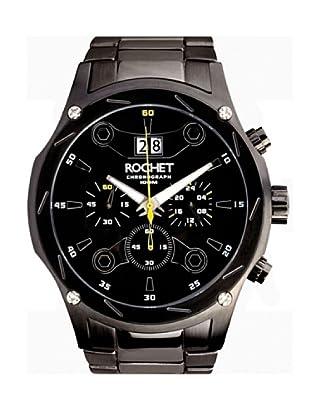 Rochet W107413 - Reloj de Caballero movimiento de cuarzo con brazalete metálico Negro