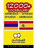 12000+ Armenian-spanish Spanish-armenian Vocabulary