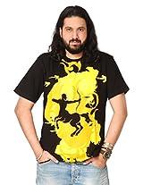 Attabouy Astrosagi Arrows Mens T-Shirt-Black