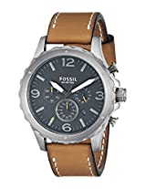 Fossil Nate Analog Black Dial Men's Watch -JR1467