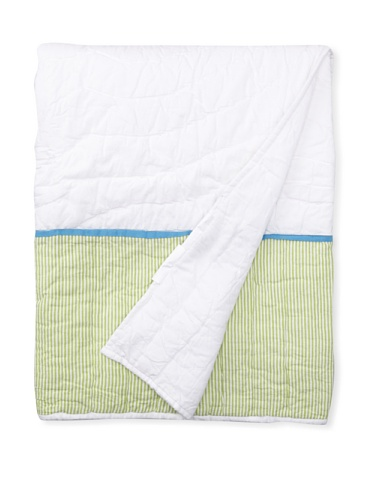 Amity Home Clothesline Baby Quilt (White/Multi)