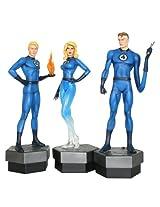 Bowen Designs Fantastic Four Painted Statues 3-Pack