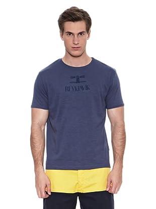 Springfield Camiseta S3 Slub Reijkiavik (Azul)