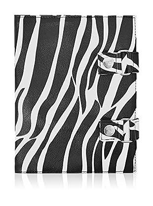 Roo Beauty Ltd Beauty Manicure Tool Wraps Zebra Nail Storage Roll Cosmetic/ Make Up Bag