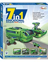 Annie 7 - in - 1 Educational Rechareable Solar E Kit, Multi Color