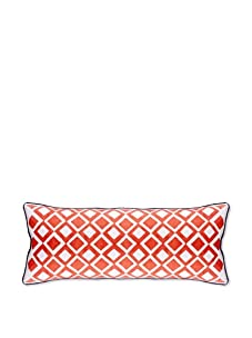 AphroChic The Beat Pillow (Coral/White)