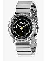 Hp.6060M.1502 Silver/Black Chronograph Watch Hush Puppies