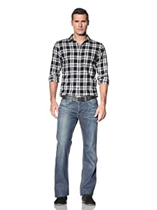 William Rast Men's Mick Bootcut With Flap Back Pocket (Woodland)