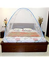 A-One Double Bed Fish Printed Mosquito Net With Elastic Band (Blue) - FP-650(B)