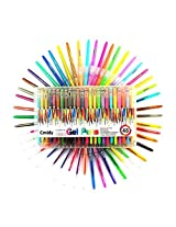 Gel Pens 48 Color Premium Professional Technik Gel Color Pens Including Glitter, Neon, Metallic & Pastel (48pcs)