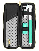 XSories Me-Shot Premium Bundle, Selfie Stick, Smartphone Mount, Bluetooth Remote, Clutch Case, iPhone, Android, iPhone 6, iPhone Accessories, Android Accessories (Turquoise/White)
