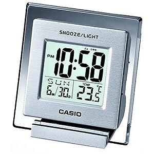 CASIO (カシオ) 目覚し時計 デジタル デスクトップクロック 温度表示
