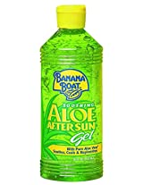 Banana Boat Aloe Vera Sun Burn Relief Sun Care After Sun Gel - 16 Ounce (Pack of 3)