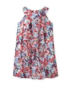 Hype Girls Nu Flowers Dress (Pink)