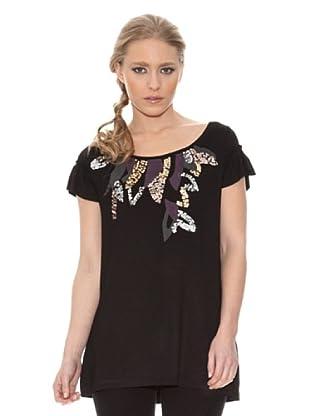 Stix Casual Camiseta (Negro)