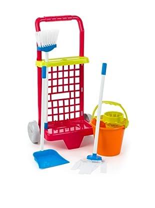 Kidzcorner Carrito limpieza con cubo