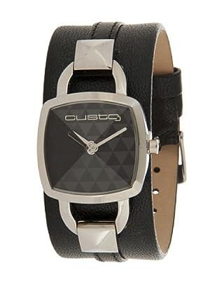 Custo Watches CU017602 - Reloj de Señora cuarzo piel Negro