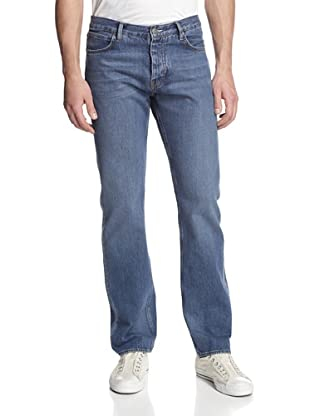 Jean Machine Men's J.M-3 Relaxed Fit Jeans (Mid Blue)