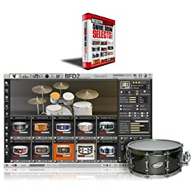 FXpansion Snare Drum Selects vol.1