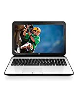 HP 15-ac125TU 15.6-inch Laptop (Core i3 5005U/4GB/1TB/DOS/Intel HD Graphics 5500), White Silver