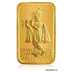 Myraa GRC-10-Sri Krishna, 24 K Gold, 10 gm, Gold Coin(995 Fineness)