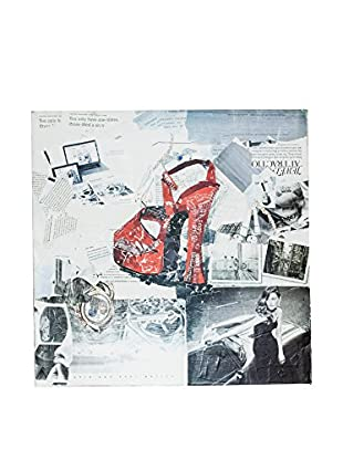 Home Ideas Lienzo News Pop Red Shoe