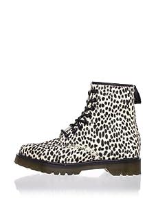 Dr. Marten's Women's 1460 8-Eye Boot (White Topos)