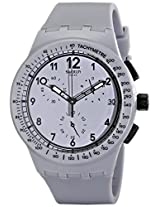 Swatch Originals Chronograph Grey Dial Men's Watch - SUSM400