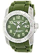 Swiss Legend Men's 10068-017 Commander II Analog Display Swiss Quartz Green Watch